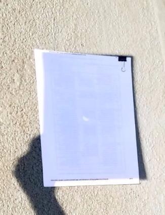 SolarEclipseReflectiononpaper